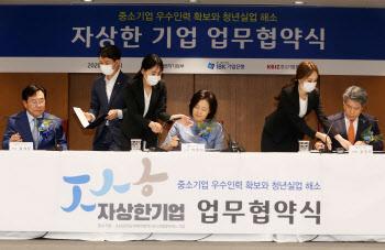 '청년실업 해소' 업무협약