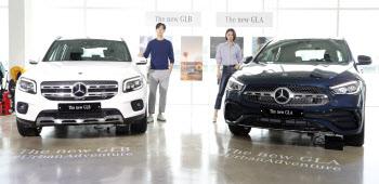 벤츠 GLB-GLA, 실용적인 패밀리 SUV 국내 출시