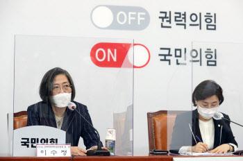 국민의힘 성폭력대책특위, '발언하는 이수정 교수'